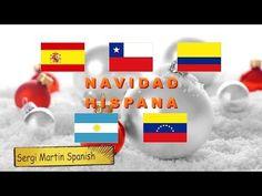 Navidad en diferentes países, España y Latinoamérica. Versión completa. #español - YouTube