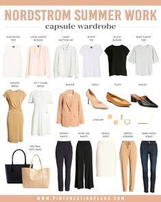 Capsule Wardrobe Work, Travel Wardrobe, Wardrobe Ideas, Preppy Wardrobe, Workwear Fashion, Fashion Capsule, Capsule Outfits, Work Fashion, Fall Fashion