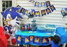 Sonic the Hedgehog Birthday Party Ideas | Photo 7 of 22