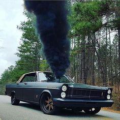 Cummins swapped 1965 Galaxie 500. Well, that's different. Via: @meehantim #turbokings #doubletap by turbokings