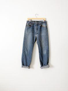 vintage 501 Levi's denim jeans, 32 x 29