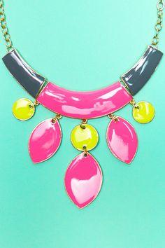 Aztec Geometric Necklace | uoionline.com: Women's Clothing Boutique