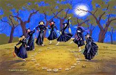 MÚSICA CLÁSICA PARA HALLOWEEN:  La danza de las brujas de N. Paganini