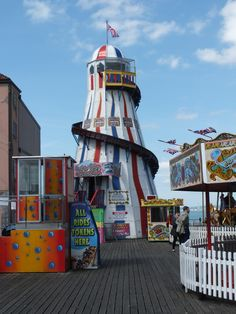 Vergnügungspark Pier in Brighton
