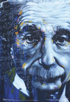Albert Einstein Artistic Formulas Poster Photo at AllPosters.com