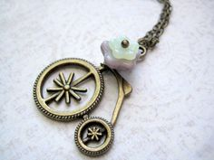 Bicycle Necklace.