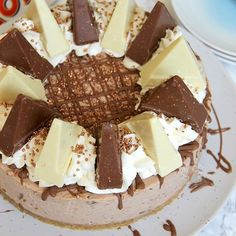 Made my Toblerone Cheesecake again oh my  A Creamyhellip
