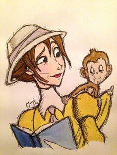 Jane from Tarzan by inkandstardust on *combine with baby terk/tarzan Disney Jane, Tarzan Disney, Disney Pixar, Walt Disney Co, Arte Disney, Disney Animation, Disney And Dreamworks, Disney Cartoons, Disney Movies