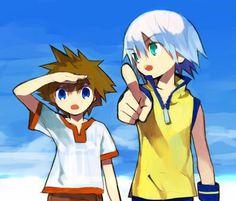 Kingdom Hearts - Riku x Sora - SoRiku