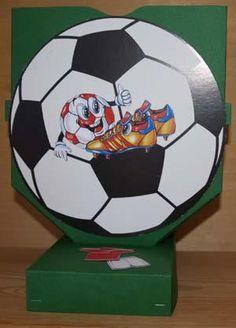 Fodbold rød/hvid - sangskjuler