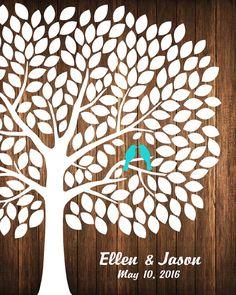 Guest Book Alternative Wedding Guest Book by CustombyBernolli