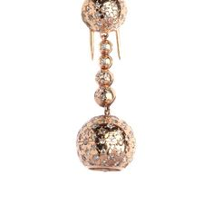 A pin featuring a pendant-watch by Van Cleef & Arpels, with diamond and star decorations. 18k rose gold mounting. France, 1940s