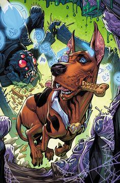 Scooby Apocalypse comics