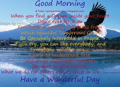 good morning quotes for tuesday - Google Search