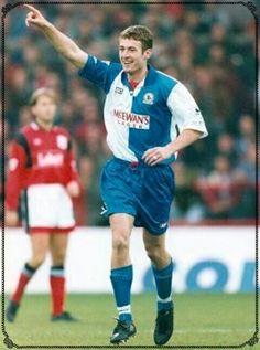 Chris Sutton of Blackburn Rovers in 1994