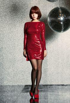 """After School - Heaven Japanese Single"""" Jimin Aoa, Shin Jimin, Asian Woman, Asian Girl, Pop Fashion, Fashion Outfits, Pretty Asian, Sexy Stockings, Dress For Success"""