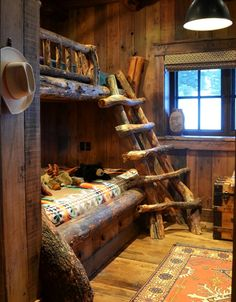 The bunk room in the Big Sky home of Renee Conner and husband Bill Renninger....