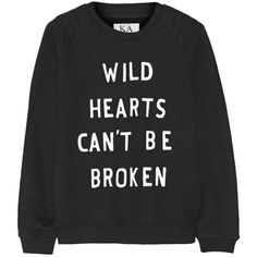 Zoe Karssen Printed cotton-blend sweatshirt found on Polyvore featuring tops, hoodies, sweatshirts, sweaters, shirts, black, sweat tops, sweatshirt shirts, black sweat shirt and zoe karssen
