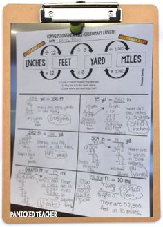Do you teach MEASUREMENT CONVERSIONS???  Try this GREAT scaffolded approach to teaching this concept with your students!!!