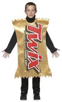 Kids Twix Costume - Twix Costumes...go as different chocolate bars?