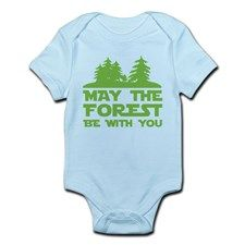 May the Forest be with you Infant Bodysuit for