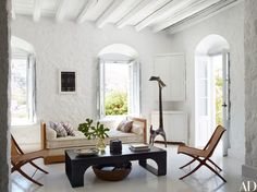 Visit a Globe-Trotting Designer's Vacation Home in Greece Photos | Architectural Digest