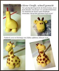 Anleitung für eine Giraffe