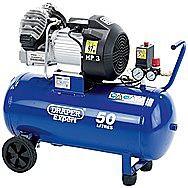 Draper Expert 05643 50 Litre 1.8kW V-Twin Air Compressor 240v