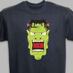 Personalized Halloween T-Shirt - Monogram Online
