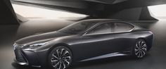 Lexus unveils luxury LF-FC hydrogen fuel cell vehicle in Tokyo | Inhabitat - Sustainable Design Innovation, Eco Architecture, Green Building