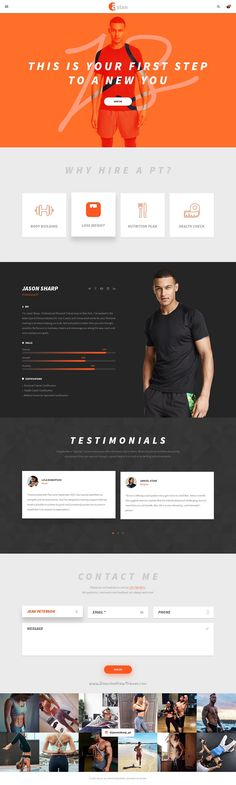 Aslan is an unique and creative #PSD template for #sports, Gym & Fitness #website with 2 homepage and 35 PSD pages download now➯ https://themeforest.net/item/aslan-gym-fitness-psd-template/16841926?ref=Datasata