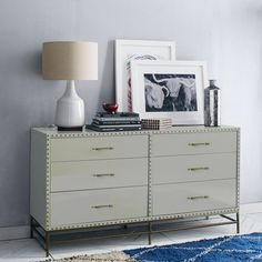 Nailhead 6-Drawer Dresser | west elm