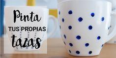 Cómo pintar tazas de cerámica de forma sencilla