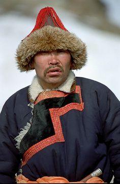 A Buryat Shepherd's Face, Buryatia, Lake Baikal by BaikalNature, via Flickr