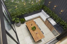The block 2019 Oslo - Courtyard (Jesse and Mel) Modern Courtyard, Small Courtyard Gardens, Courtyard Design, Internal Courtyard, Small Courtyards, Small Backyard Gardens, Fence Design, Patio Design, Backyard Landscaping