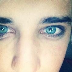 HIS EYES ARE GORGEOUS >>> his eyes look like Eren Jaeger's!!!!