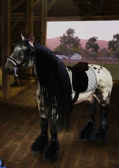 thesims3 pretty horses | sims 3 pets horse tack downloads