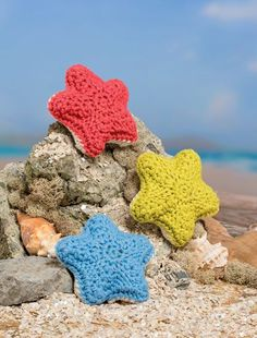 Bathtime Buddies – 20 Crocheted Animals from the Sea Star Fish