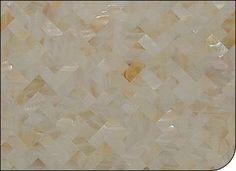 MOP012 - River Shell Tile, Herringbone Pattern, Natural