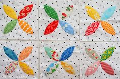 Tied with a Ribbon: Green Tea and Sweet Beans Quilt Progress Update