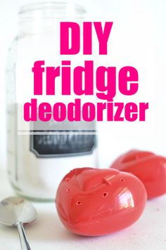 Here's a simple little DIY to help keep your fridge smelling fresh!  Use my All Natural Basic Deodorizer and you've got a winner!