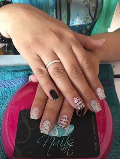 Acrylic nails, nails art, nails