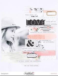 """Layout """"Love"""" mit dem Maikit der SBW - Scrap Sweet Scrap"""