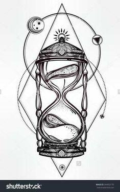 Side Tattoos, Body Art Tattoos, Cool Tattoos, Arm Tattoo, Sleeve Tattoos, Chest Tattoo, Tattoo Sketches, Tattoo Drawings, Hour Glass Tattoo Design