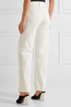 Simon Miller - W006 Latta High-rise Wide-leg Jeans - White - 29