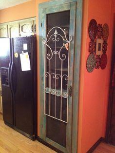 old screen door for pantry