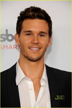Ryan Kwanten, he was on my flight to london and he def caught me looking at him quite a few times haha