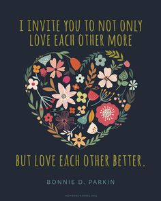 Let's Love Each Other Better