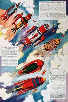 Buck Rogers - Interplanetary Battle Fleet (1934)