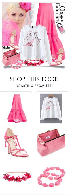 """shein"" by perfex ❤ liked on Polyvore featuring Peter Pilotto, WithChic, Frances Valentine, Kim Rogers and GUiSHEM"